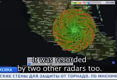 メキシコの上空にまた「謎のスパイラル」登場!:HAARPの仕業か!?_e0171614_10112140.jpg