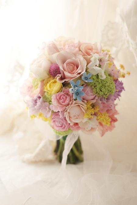 新郎新婦様からのメール とあるホテル様への装花 アプリコットファンデーション_a0042928_2215548.jpg