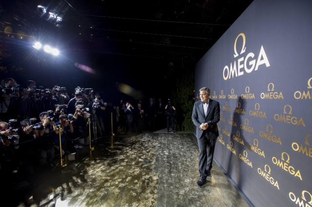 ジョージ・クルーニーが登場した上海でのオメガイベントがムービーで_f0039351_2392726.jpg