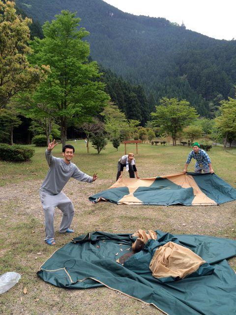 楽しかったG.W.のキャンプ〜Vol.4_a0239065_1553334.jpg