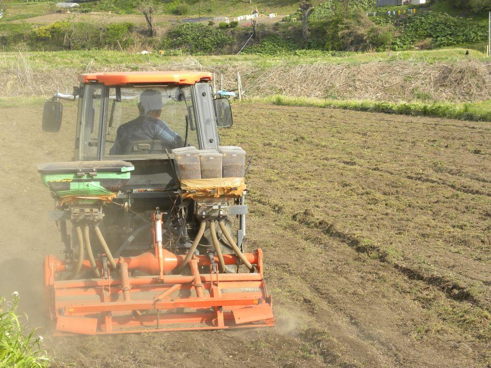 夏蕎麦の種蒔きがスタートです・・・。_b0329588_19394540.jpg