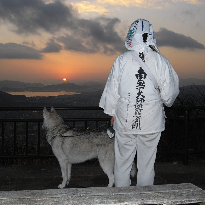 Memory of the second pilgrimage with husky HANA II_c0049299_12561564.jpg