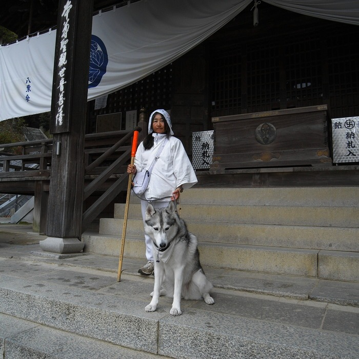Memory of the second pilgrimage with husky HANA II_c0049299_13152682.jpg