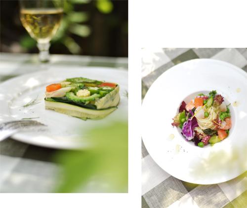 サラダなパスタと、ガーデンランチ。_d0174704_20213284.jpg