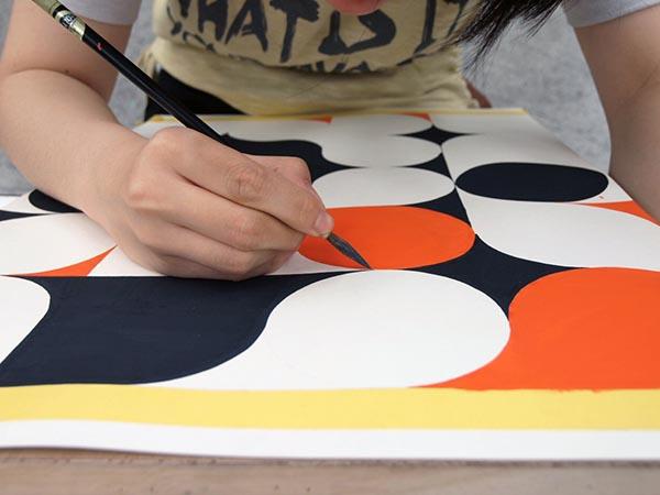 5週目は色彩構成の講評/デザイン・工芸科 私大コース_f0227963_9173024.jpg