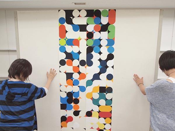 5週目は色彩構成の講評/デザイン・工芸科 私大コース_f0227963_9183094.jpg