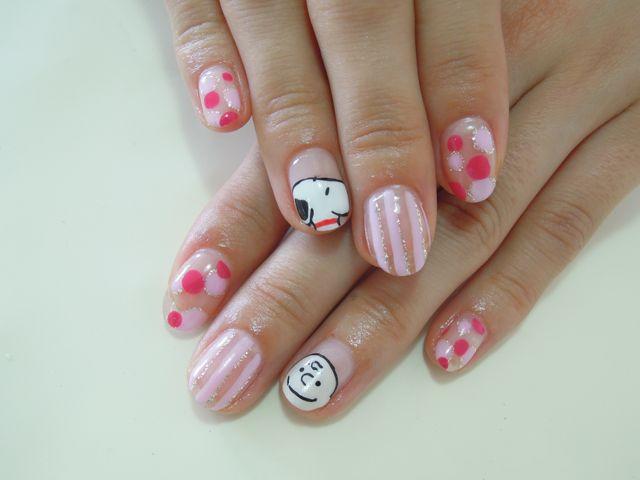 Snoopy Nail_a0239065_1326071.jpg