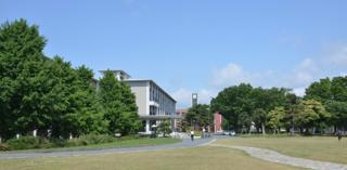 ポカポカ陽気の芝の広場では学生さん達が....サッカーやら..._b0194185_231585.jpg