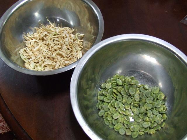 打ち豆と切干大根の煮物_f0019498_1538377.jpg