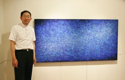 山脇佐久子・高橋俊明二人展「それぞれの座標」始まる_d0178431_18105288.jpg