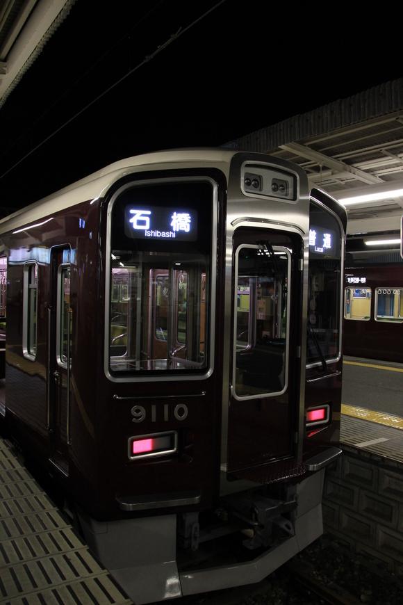 阪急 箕面駅  表示幕! 9000系 1000系_d0202264_20421674.jpg