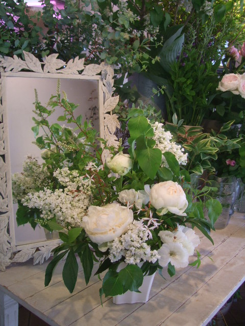 オークリーフ花の教室(赤地さんと宮原さんの作品)_f0049672_165978.jpg