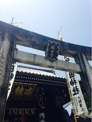 櫛田神社参拝_f0323213_1842945.jpg