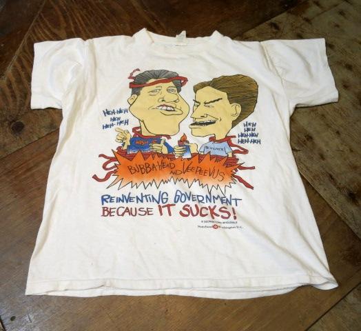 5/24(土)入荷!90年代ビーバス クリントン ゴア Tシャツなど・・。_c0144020_1435254.jpg