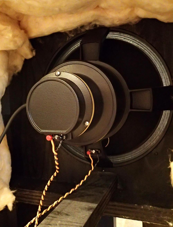 38cm同軸2WAY 励磁型システム 完成しました。_b0262449_21555139.jpg