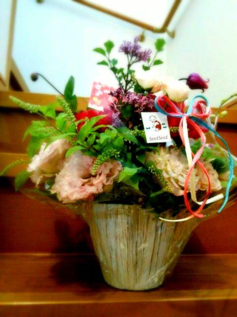 母の日のお花 ~Seed Seedさん☆~_b0241353_16434771.jpg