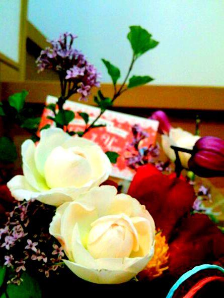 母の日のお花 ~Seed Seedさん☆~_b0241353_1644991.jpg