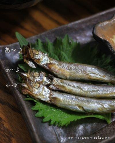 鰹の生姜煮 ☆ 合唱シシャモと献立♪_c0139375_11242327.jpg