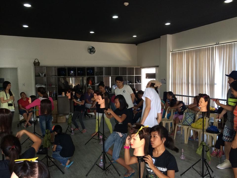 ハサミノチカラ プロジェクト in フィリピン_c0204289_23525629.jpg