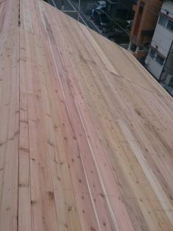 板橋区の高島平で屋根工事_c0223192_20455072.jpg