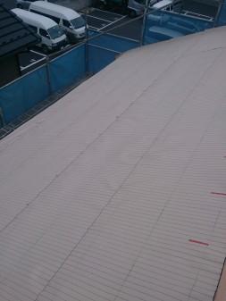 板橋区の高島平で屋根工事_c0223192_20501266.jpg