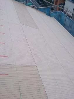 板橋区の高島平で屋根工事_c0223192_2050371.jpg