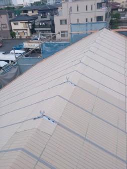 板橋区の高島平で屋根工事_c0223192_20511857.jpg