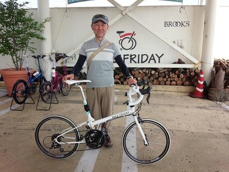 納車 Bike Friday_d0147944_16431828.jpg