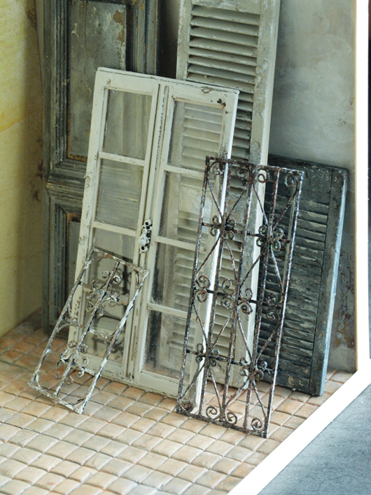 miniature* BROCANTE な建具と、web shopお知らせ_e0172847_140566.jpg