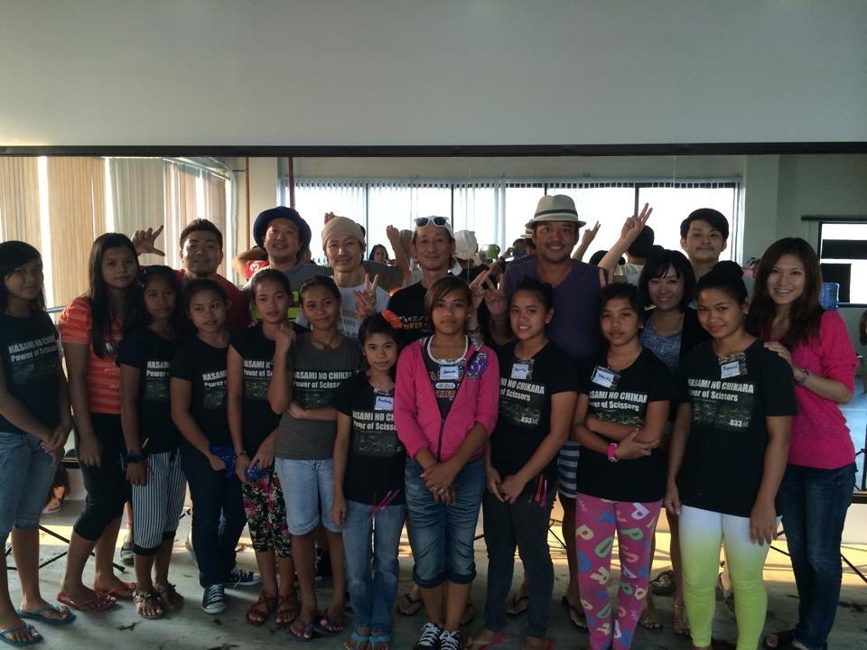 ハサミノチカラ プロジェクト in フィリピン_c0204289_082015.jpg