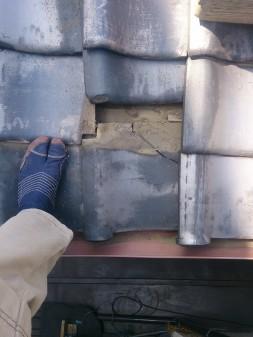 板橋区の上板橋で瓦屋根修理工事_c0223192_20545495.jpg