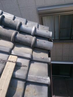 板橋区の上板橋で瓦屋根修理工事_c0223192_2059201.jpg