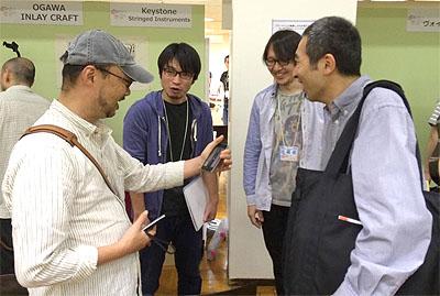 勉強になりました! TOKYOハンドクラフトギターフェス2014_c0137404_22373586.jpg