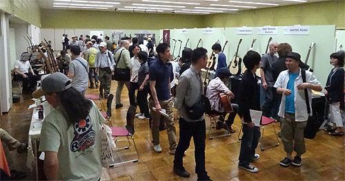 勉強になりました! TOKYOハンドクラフトギターフェス2014_c0137404_2243068.jpg