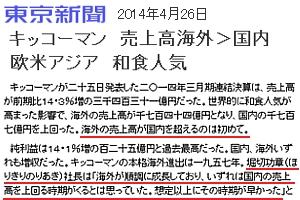 ミツカンがユニリーバから「ラグー」と「ベルトーリ」を買収!!! 海外売上比率50%超へのグローバル戦略_b0007805_272775.jpg