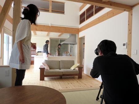 雑誌取材*写真撮影 / 川越市のゼロエネルギー住宅 H様邸にて_d0080906_13225842.jpg