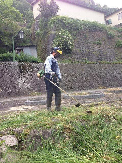 /// 春来川の美化作業に参加し、綺麗になりました /// _f0112434_23304880.jpg