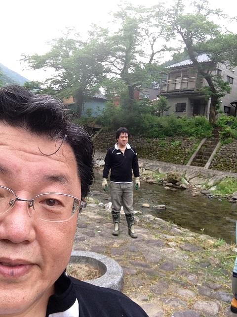 /// 春来川の美化作業に参加し、綺麗になりました /// _f0112434_23332065.jpg