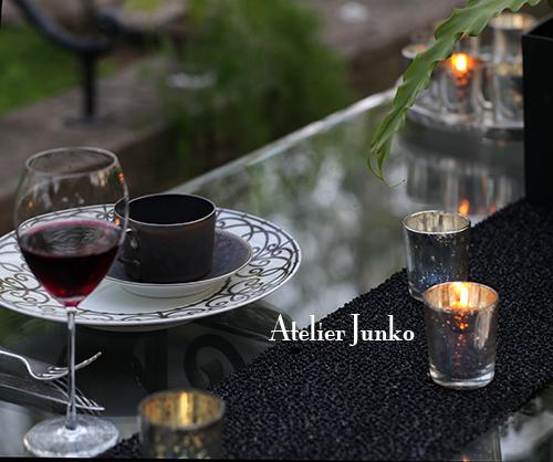 八ヶ岳 Atelier Junko テーブルコーディネート展2014(4)_c0181749_08382495.jpg