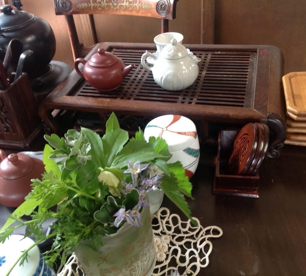 楽茶コーナーで_d0237757_09210159.jpg