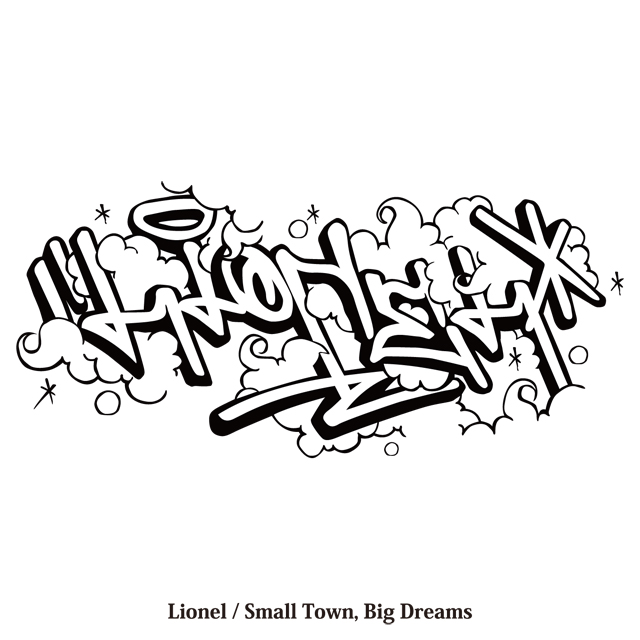 "LIONEL 1st Album""Small Town, Big Dreams\"" 取扱店様一覧 _d0246877_7573297.jpg"