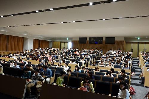 名城大学薬学部4年生の講義_a0152501_15233015.jpg