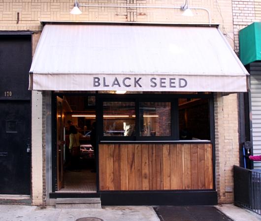 NYに新スタイルの大人気ベーグル店登場 Black Seed Bagel_b0007805_1535626.jpg