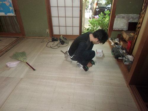 H様邸(安佐南区高取南)和室床貼り替え・白アリ駆除工事_d0125228_7473449.jpg