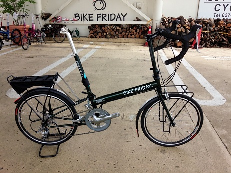納車 Bike Friday_d0147944_20363796.jpg