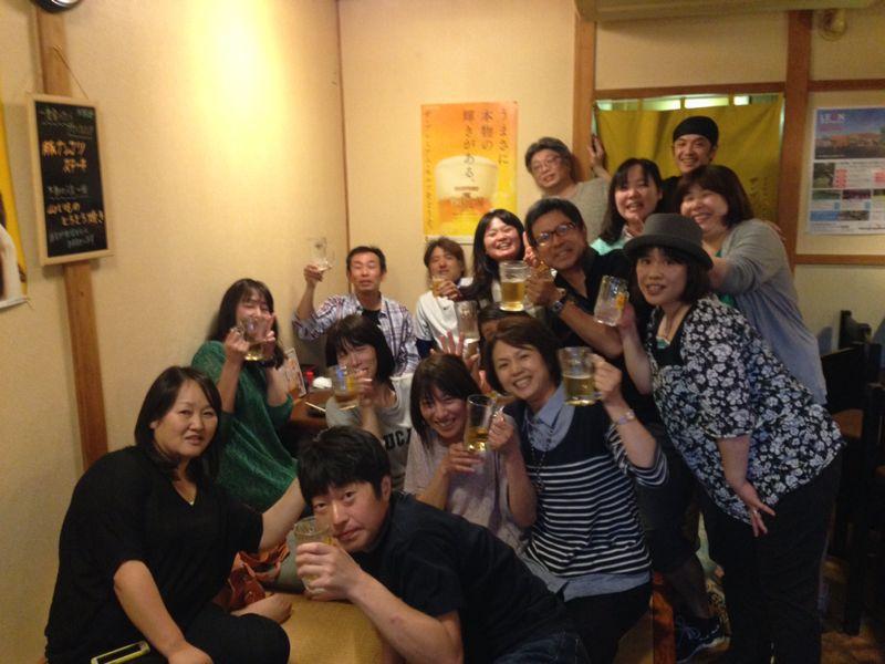 高中の友達!だまちゃんが帰って来たので宴会(≧∇≦)_c0110051_1952781.jpg