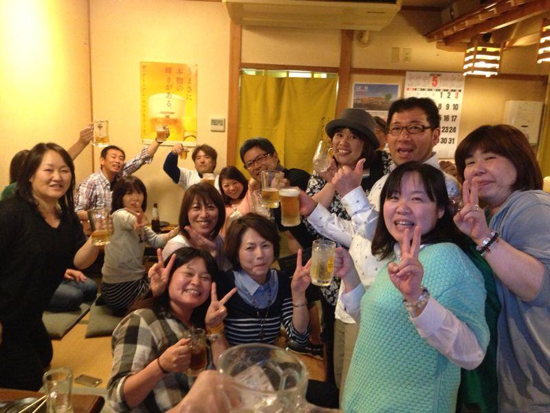 高中の友達!だまちゃんが帰って来たので宴会(≧∇≦)_c0110051_1952821.jpg