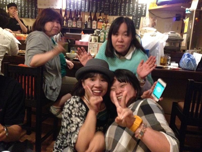 高中の友達!だまちゃんが帰って来たので宴会(≧∇≦)_c0110051_1953032.jpg