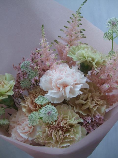 オークリーフ(母の日に贈る花束)_f0049672_14134539.jpg