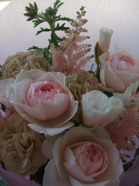 オークリーフ(母の日に贈る花束)_f0049672_1414762.jpg